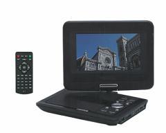 REVOLUTION レボリューション ZM-7  7インチ ポータブル DVDプレーヤー CPRM 車載対応 即納!!