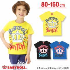 SS_SALE50%OFF SWITCH Tシャツ ベビーサイズ キッズ ベビードール 子供服-9501K【150cmあり】