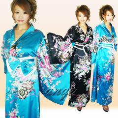 CPD1608-003/キャバドレス/リボン帯付き花魁ロングドレス