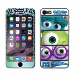 iPhone8 iPhone7 対応【GizmobiesxDisney(ディズニー)】「MU」 モンスターズインク サリー マイク 背面保護シール