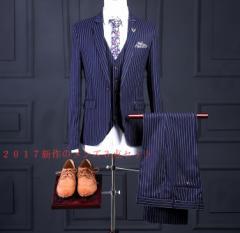 最新作/細身/メンズ/スーツ+パンツ+ベスト/ビジネスドレス/上下セット/礼服/結婚式/お祝い/成人式/卒業式/入学式/3点セット