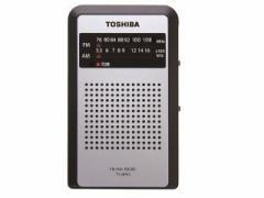 TOSHIBA ポケットラジオ FMワイドバンド対応 TY-APR3(K)