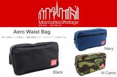 マンハッタンポーテージ Manhattan Portage Aero Waist Bag エアロ ウエスト バッグ 1109
