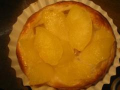 奇跡の30年自家製天然酵母アップルデニッシュ。季節の美味しいリンゴをじっくりと煮込んだ美味しいスイーツになりました。
