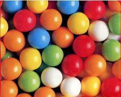 ガムボール(バブルガム) 18mm玉 500粒入り、人気者ナッバーワンです
