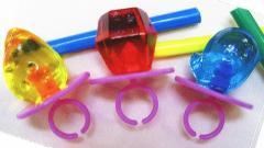 ジュエルリング (3種3色) 30ケ/3袋〜 注文受けてからつくります- 3種AS