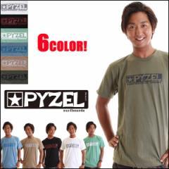 PYZEL サーフボード ロゴ Tシャツ メンズ 半袖 プレミアムTee 6カラー PYZEL SURFBOARDS 正規販売店