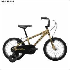 """【リミテッドカラー】キッズバイク MARIN マリン 2017 """"DONKY Jr 16"""" カモフラージュ 16インチ 自転車"""