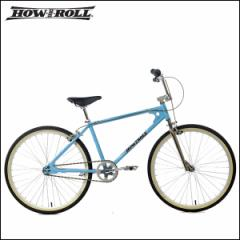 """【送料無料完全組立】オールドBMX HOW I ROLL ハウアイロール """"KICK IT"""" キックイット BMX 26"""" ライトブルー 自転車"""