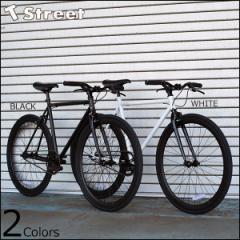 T-STREET 700C シングルスピード 完成車 コミューター 2色バリ 自転車