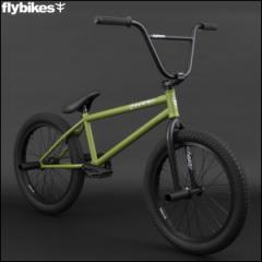 "BMX FLYBIKES フライバイクス 2017 ""ORION 21.0 LHD"" OLIVE GREEN ストリート 自転車 20インチ"