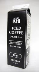 【12本セット】 成城石井 アイスコーヒー 無糖 1000ml×12本 (紙パック)