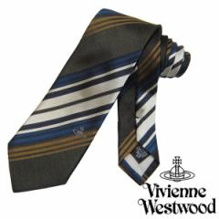 Vivienne Westwood ヴィヴィアンウエストウッド ネクタイ新柄 F718-0002 (671)