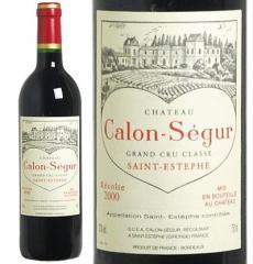 シャトー・カロン・セギュール 2000年 750ml (飲み頃バックヴィンテージ入荷)(赤ワイン フランス ボルドー フルボディ プレゼント)