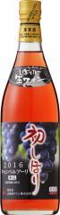 【おたるワイン】12本迄送料1本分(離島地域は除く。佐川急便指定)「北海道ワイン2016年おたる初しぼりキャンベルアーリ・ロゼ720ml」