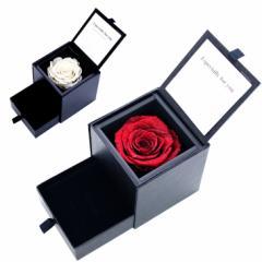 ジュエリーケース プリザーブドフラワー 薔薇 バラ ダイヤモンドローズ ボックス ブリザーブド  1218 ギフト 送料無料