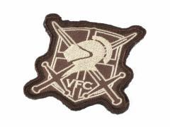VFC シールドロゴパッチ 65*65mm (Brown)
