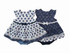Pample Mousse(パンプルムース) 日本製 春物 ベビー服 女の子 水玉 ミルキースーツ 70 80 90