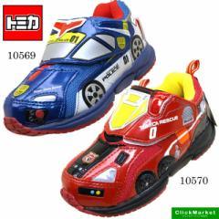 [送料無料]トミカ TOMICA ハイパーカー スニーカー 運動靴/ベルクロ/マジックベルト 10569 10570 キッズ 15cm〜19cm