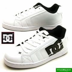 ディーシーシューズ DC Shoe NET SN 171050 WTH ネット スニーカー 白黒 メンズ