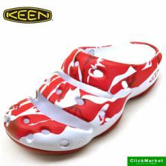 [送料無料]キーン KEEN YOGUI ARTS 1017085 SYNC RED ヨギ アーツ クロッグ サンダル メンズ