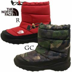 [送料無料]ノースフェース THE NORTH FACE Nuptse Bootie III NFJ51682 子供 防寒ブーツ GC R 21cm〜22cm