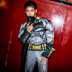 【即納】ハロウィン 衣装  コスプレ 正規ライセンス バットマン costume【コスチューム】デラックスバットマン(BVS) テレビ