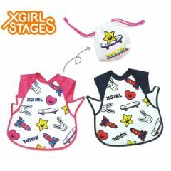 X-girl Stages エックスガール ステージス ベビー 子供服 17夏 エプロンスタイ  xg-9272505