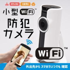 スマホでいつでも確認「小型WiFi防犯カメラ」 (防犯カメラ,wifiネットワーク,録画,音声対応,スマホ対応,空き巣対策)