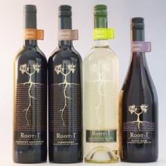 チリワイン ルート・ワン 750ml×4本セット Root:1 【送料無料】赤ワイン 白ワイン