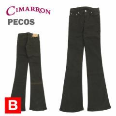 [訳あり☆B品] シマロン PECOS ストレッチ ベルボトム パンツ チャコール/W25インチ (CIMARRON PECOS)