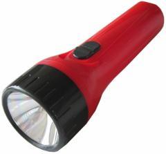 [まとめ5本セット] OHM 懐中ライト 乾電池付き FL-106L 単1形乾電池×2個 (07-7401)