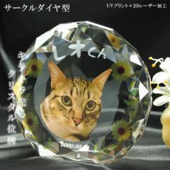 かわいいクリスタルペット位牌【ピュアラブ サー...