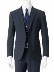【AOKI】3ピース 2ボタンスーツ【ストレッチ】 【送料無料】品番:3F-1553-189