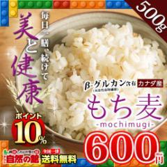 【SALE】【ポイント10%】【新発売】もち麦500g カナダ産 館のもち麦ダイエット βグルカン 大麦 送料無料 ごはん
