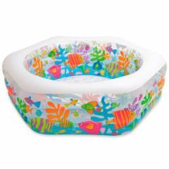 SALE インテックス プール オーシャンリーフ 56493a ファミリープール ビニールプール 家庭用プール 子供用プール 大型プール