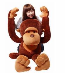 猿 ぬいぐるみ さる/サル 110cm 巨大/大きい 抱き枕/イベント/お祝い贈り物/誕生日プレゼント