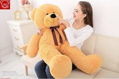 ぬいぐるみ 特大 くま/テディベア 大きい熊 動物 100cm 可愛い くまぬいぐるみ/熊縫い包み/クマ抱き枕/お祝い/ふわふわぬいぐるみ