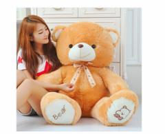 可愛いテディベア!4色 80cm 大きいクマぬいぐるみ 特大 くま抱き枕/クマ縫い包み/プレゼント/イベント/お祝い