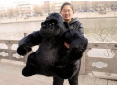 ゴリラぬいぐるみ 動物ぬいぐるみ おもちゃ 可愛いぬいぐるみ 特大75cm