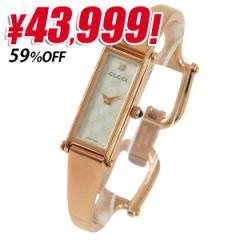 【特価】グッチ GUCCI 1500 12mm レディース 1Pダイヤ 腕時計 ピンクゴールド ステンレススチール ya015560