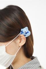 ■送料無料■マスク用イヤーカバー 種類:選択可 (くま・うさぎ・ねこ)【お取り寄せ】