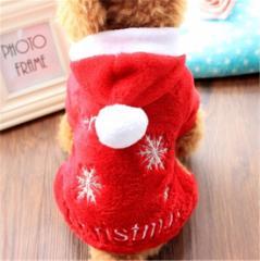 代引不可トナカイコスプレ ドッグ ウェア 秋 冬 エアバルーン クリスマス 帽子 マフラー サンタ コスプレ ペット服 ネコ 服 小型犬