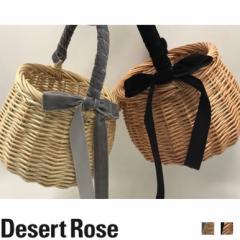 2017 手作り かごバッグ バスケットバッグ ハンドバッグ カゴバッグ リボン付き バッグ