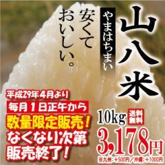 当店人気No.1 山八米 10kg ※九州は別途500円・沖...