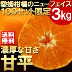 送料無料 愛媛県産 甘平(かんぺい)約3kg みかん ミカン 柑橘 ギフト 贈り物(gn)