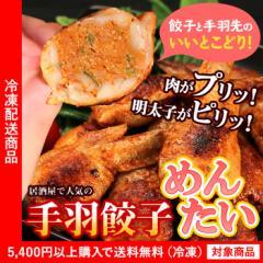 手羽餃子 めんたい味10個入り【グルメ】【餃子】【鶏肉】【5400円以上まとめ買いで送料無料対象商品】(lf)アウトレット