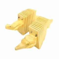 アジアの楽器 12連 クラッパー カスタネット ドミノ楽器 全長約25cm エスニック バリ アジアン アジアン雑貨