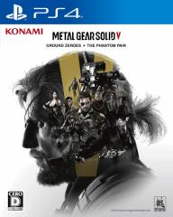 【送料無料(ネコポス)・即日出荷】PS4 METAL GEAR SOLID V GROUND ZEROES + THE PHANTOM PAIN  090592