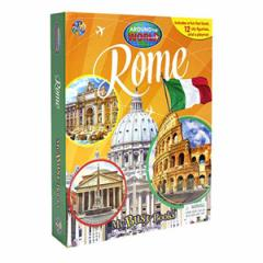 (英語版)海外書籍 「Rome - Around the World My Busy Book(ローマ 世界都市 マイ ビジーブック)」 (本+ミニフィギュア12種)